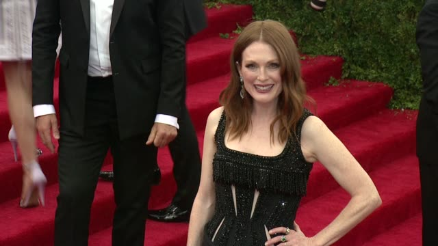 Julianne Moore at China Through The Looking Glass Costume Institute Benefit Gala Arrivals at Metropolitan Museum of Art on May 04 2015 in New York...