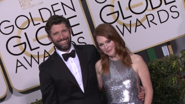 Julianne Moore at the 72nd Annual Golden Globe Awards Arrivals at The Beverly Hilton Hotel on January 11 2015 in Beverly Hills California