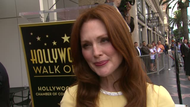 julianne moore on her past acting roles, being on a soap opera and what she looks for in a role at julianne moore honored with star on the hollywood... - soap opera stock videos & royalty-free footage