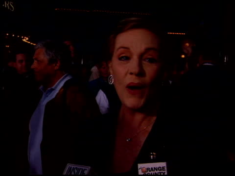 julie andrews at the 50th anniversary of disneyland at disneyland in anaheim, california on may 4, 2005. - julie andrews stock videos & royalty-free footage