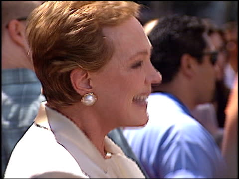 Julie Andrews at the Premiere of 'The Princess Diaries' at the El Capitan Theatre in Hollywood California on July 29 2001