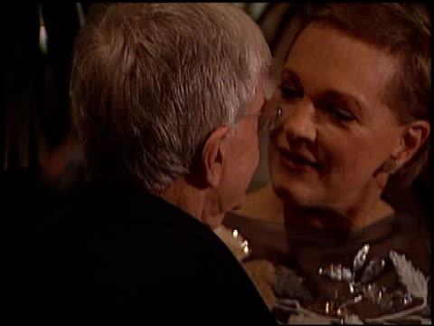 julie andrews at the society of singers ella award julie andrews at the beverly hilton in beverly hills, california on april 25, 2001. - the beverly hilton hotel点の映像素材/bロール