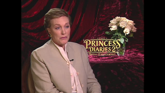 julie andrews on the more difficult scenes to shoot in the original 'mary poppins' - julie andrews stock videos & royalty-free footage