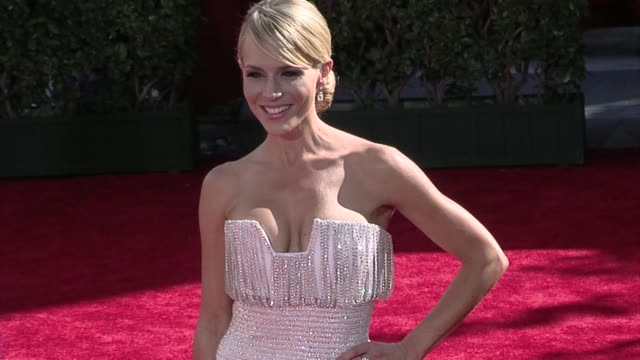 Julie Benz at the 61st Annual Primetime Emmy Awards Arrivals Part 3 at Los Angeles CA