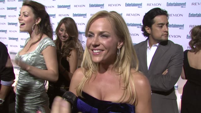 Julie Benz at the Entertainment Weekly 6th Annual PreEmmy Party at Los Angeles CA