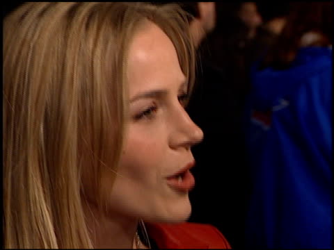 Julie Benz at the 'Sugar and Spice' Premiere at the Bruin Theatre in Westwood California on January 24 2001