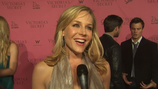 Julie Benz on bringing her boyfriend to tonight's event on why she wanted to be here tonight on what makes her feel sexy on what she finds sexy in...