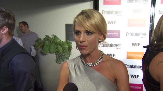Julie Benz on 'Dexter' nominations the event at the Entertainment Weekly Women In Film PreEmmy Party at West Hollywood CA