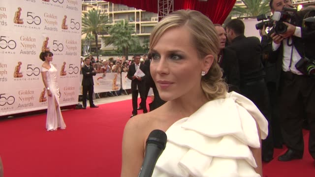 Julie Benz on enjoying her first time at the festival on being from Texas and doing the Texas Longhorns sign with the Prince on wanting to come back...