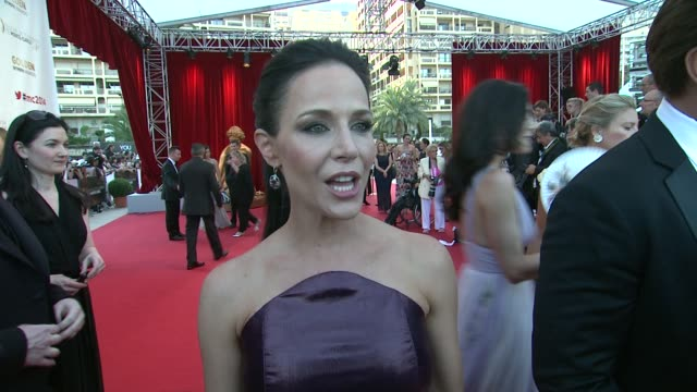 INTERVIEW Julie Benz on remembering the fans from four years ago at the 54th MonteCarlo Television Festival Day 5 on June 11 2014 in MonteCarlo Monaco