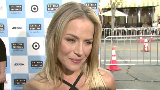 Julie Benz on the new 'John Rambo' movie on working with Sylvester Stallone and on what's coming up on 'Dexter' at the 'Talk To Me' 2007 Los Angeles...