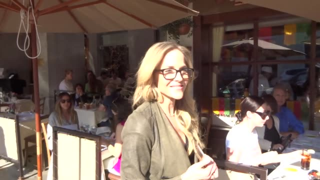 INTERVIEW Julie Benz talks about if she watched the Super Bowl or not while shopping in Beverly Hills Celebrity Sightings on February 6 2018 in Los...