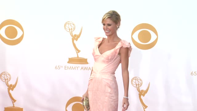 julie bowen at 65th annual primetime emmy awards arrivals julie bowen at 65th annual primetime emmy awards at nokia theatre la live on september 22... - julie bowen stock videos and b-roll footage
