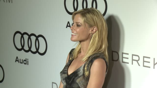 julie bowen at audi and derek lam kick off emmy week 2012 on 9/16/12 in los angeles ca - julie bowen stock videos and b-roll footage