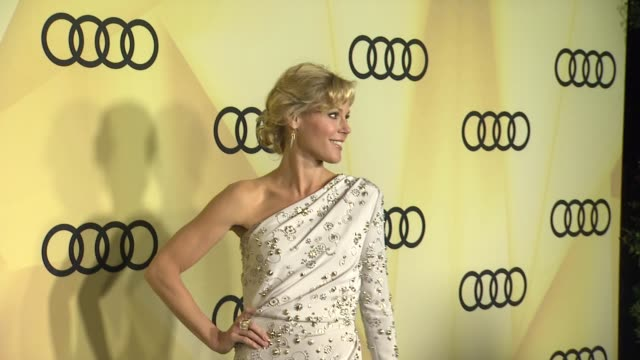 julie bowen at audi kicks off golden globes week 2013 on 1/6/13 in los angeles ca - julie bowen stock videos and b-roll footage