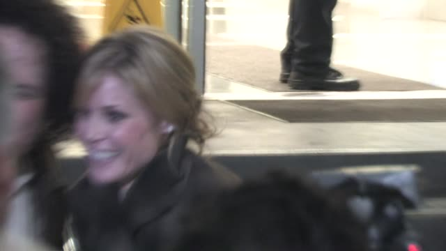 julie bowen at cnn in hollywood at the celebrity sightings in los angeles at los angeles ca - julie bowen stock videos and b-roll footage
