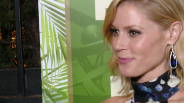 julie bowen at fox, 20th century fox television, fx networks and national geographic channel's 2014 emmy award nominee celebration at vibiana on... - nominee stock videos & royalty-free footage