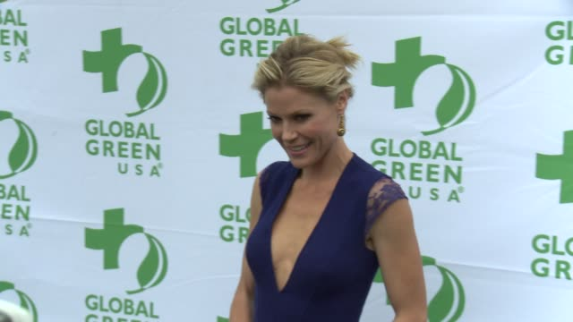 julie bowen at global green usa presents its 16th annual millennium awards at fairmont miramar hotel on june 02 2012 in santa monica california - julie bowen stock videos and b-roll footage