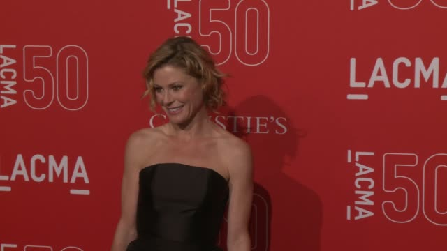 julie bowen at lacma's 50th anniversary gala at lacma on april 18 2015 in los angeles california - julie bowen stock videos and b-roll footage