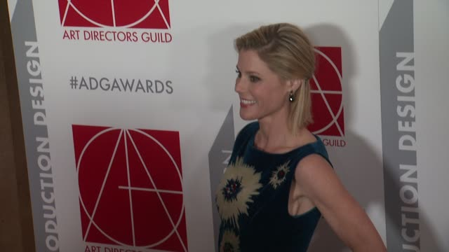 julie bowen at the 19th annual art directors guild excellence in production design awards at the beverly hilton hotel on january 31 2015 in beverly... - julie bowen stock videos and b-roll footage