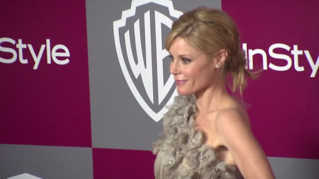 julie bowen at the 2011 instyle/warner brothers golden globe awards party at beverly hills ca - julie bowen stock videos and b-roll footage