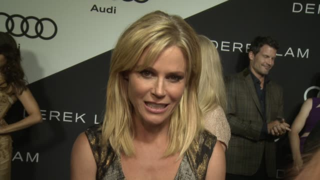 julie bowen on being at the event her nomination how she's preparing for the big day what it's like getting ready for the red carpet if she's decided... - julie bowen stock videos and b-roll footage
