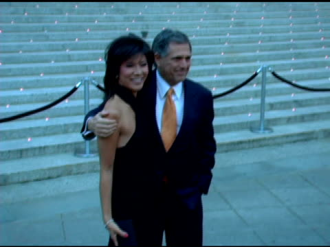 Julie Chen and Les Moonves at the 2006 Tribeca Film Festival Vanity Fair Party at State Supreme Courthouse in New York New York on April 26 2006