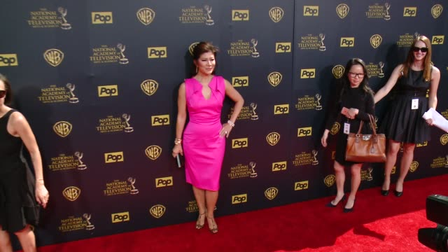 Julie Chen at 42nd Annual Daytime EMMY Awards at Warner Bros Studios on April 26 2015 in Burbank California