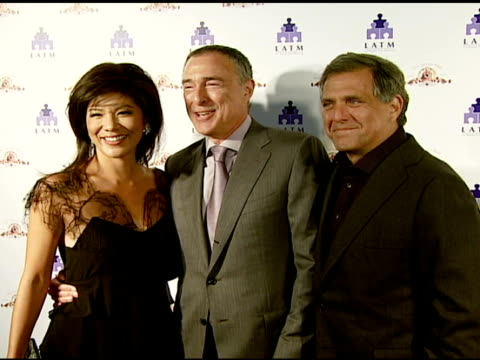 stockvideo's en b-roll-footage met julie chen, mgm chairman and ceo harry e sloan, and cbs corporation president and ceo les moonves at the los angeles team mentoring 9th annual summer... - voorzitter