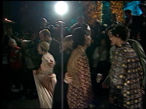 julie cypher at the 1998 academy awards vanity fair party at morton's in west hollywood, california on march 23, 1998. - 第70回アカデミー賞点の映像素材/bロール