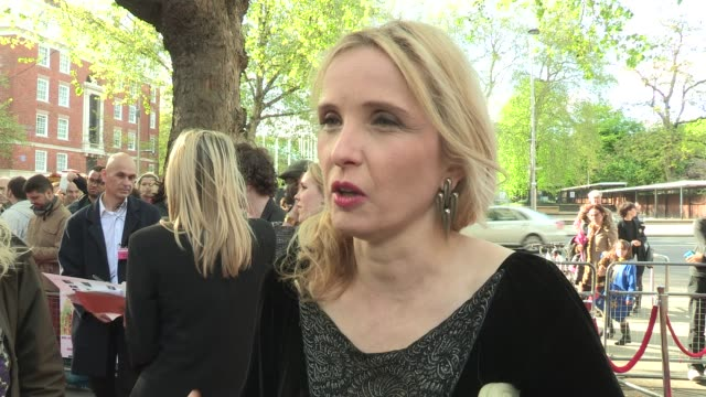 Julie Delpy talking sexy french at 2 Days in New York UK Premiere at Odeon Kensington on May 11 2012 in London England