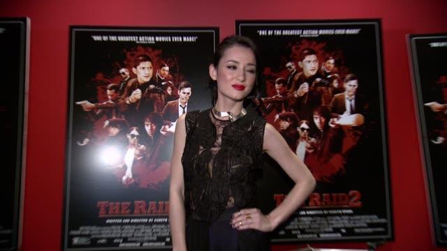 Julie Estelle at The Raid 2 New York Screening at Sunshine Landmark on March 17 2014 in New York City