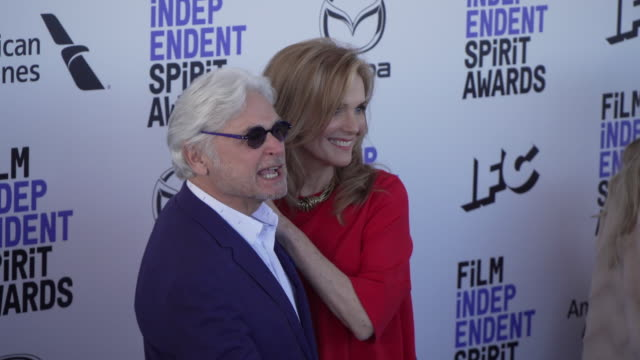 julie hagerty and richard kagan at the 2020 film independent spirit awards on february 08 2020 in santa monica california - film independent spirit awards stock videos & royalty-free footage