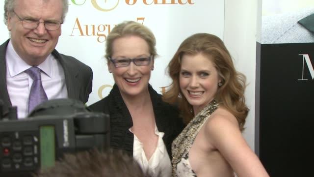'julie & julia' world premiere, new york, ny, 7/30/09. - nora ephron stock videos & royalty-free footage
