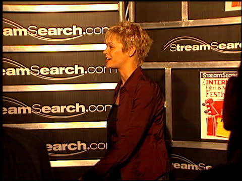 Julie McCullough at the StreamSearch com Awards at Playboy Mansion in Los Angeles California on April 4 2000
