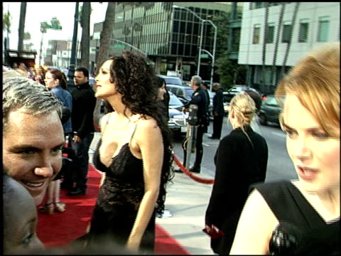 julie strain at the 'moulin rouge' premiere at academy theater in beverly hills california on may 16 2001 - julie strain stock videos and b-roll footage