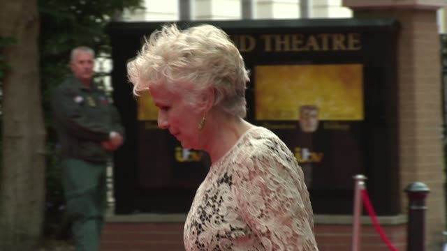 BROLL Julie Walters Jonathan Ross Lesley Nicol at Richmond Theatre on August 11 2015 in Richmond England