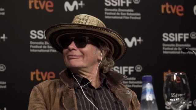 julien temple attends 'crock of gold: a few rounds with shane macgowan' press conference during the 68th san sebastian international film festival at... - julien temple stock videos & royalty-free footage