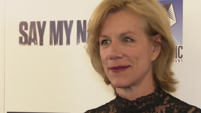 juliet stevenson at 'say my name' charity gala on april 23, 2019 in london, united kingdom. - juliet stevenson stock videos & royalty-free footage