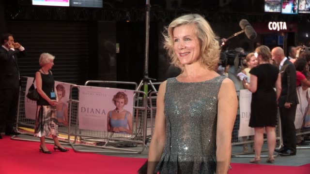 juliet stevenson at the 'diana' world premiere at odeon leicester square on september 05, 2013 in london, england - juliet stevenson stock videos & royalty-free footage
