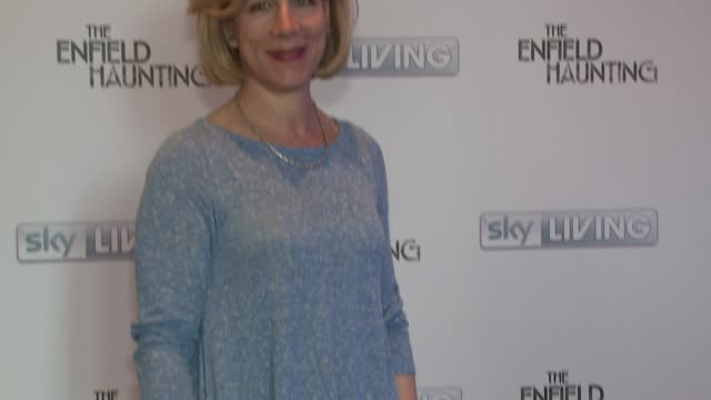 juliet stevenson at the enfield haunting on 29th april 2015 in london, england. - juliet stevenson stock videos & royalty-free footage