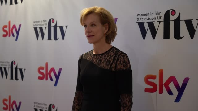 juliet stevenson at the women in film and television awards on december 7 2018 in london england - television awards stock videos & royalty-free footage