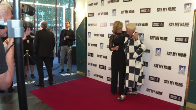 juliet stevenson, emma thompson at 'say my name' charity gala on april 23, 2019 in london, united kingdom. - juliet stevenson stock videos & royalty-free footage
