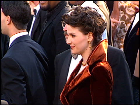 juliette binoche at the 1997 academy awards arrivals at the shrine auditorium in los angeles california on march 24 1997 - 69th annual academy awards stock videos and b-roll footage