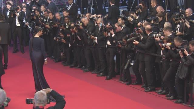 juliette binoche leaving 'slack bay' red carpet at grand theatre lumiere on may 13, 2016 in cannes, france. - juliette binoche stock videos & royalty-free footage
