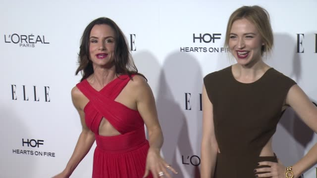 Juliette Lewis and Beth Riesgraf at 23rd Annual Elle Women In Hollywood Celebration at Four Seasons Hotel Los Angeles at Beverly Hills on October 24...