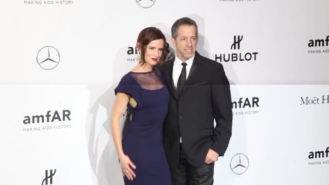 BROLL Juliette Lewis and Kenneth Cole at amfAR Milano 2013 Gala Milan Fashion Week S/S 2014 at La Permanente on September 21 2013 in Milan Italy