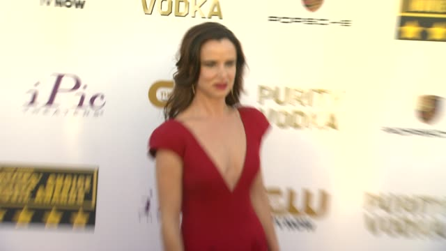 Juliette Lewis at 19th Annual Critics' Choice Movie Awards Arrivals at The Barker Hanger on in Santa Monica California