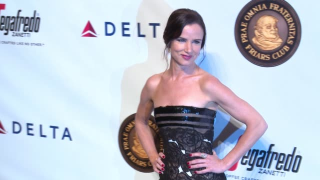 juliette lewis at friars club honors martin scorsese with entertainment icon award at cipriani, wall street on september 21, 2016 in new york city. - juliette lewis stock videos & royalty-free footage