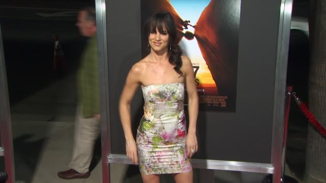 juliette lewis at the '127 hours' premiere at beverly hills ca. - juliette lewis stock videos & royalty-free footage